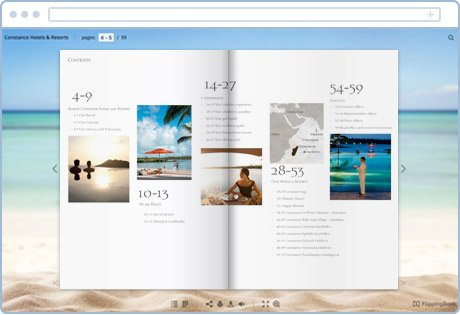 websites to make brochures for free | template