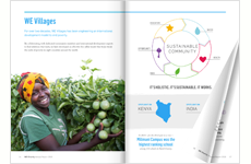 Annual Report by WE CHARITY