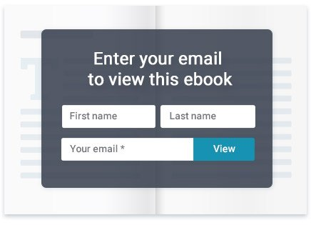 Generate leads within your ebooks