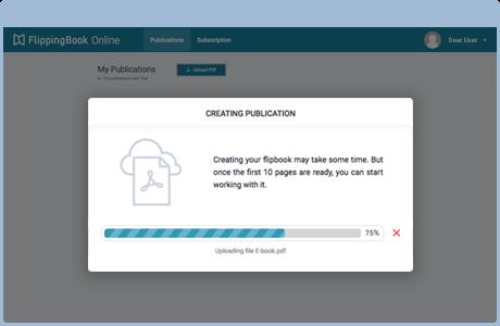 Upload your PDF