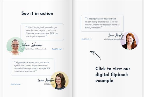 FlippingBook converts PDFs into digital flipbooks you can share and track