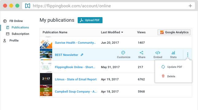 FlippingBook Online