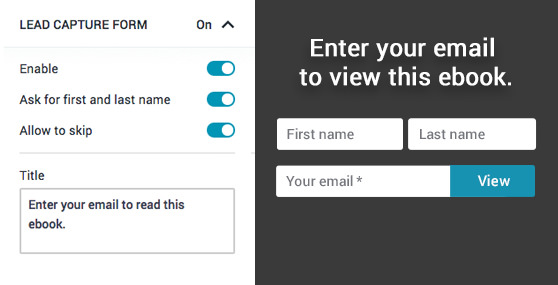 Customize the form