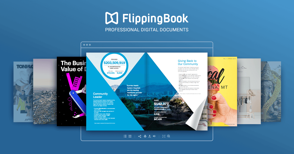 Online Flipbook Maker Create Flipbook With Flippingbook